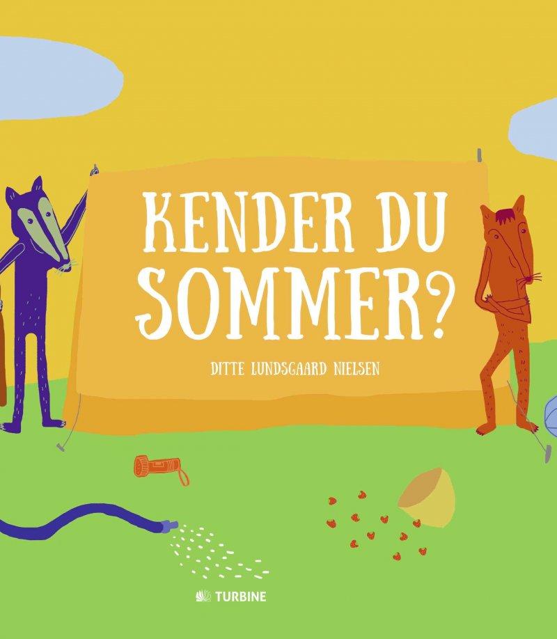 Image of   Kender Du Sommer? - Ditte Lundsgaard Nielsen - Bog