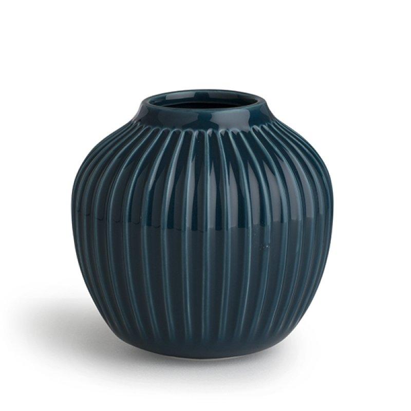 Image of   Kähler Hammershøi Vase - Lille - Petrolium