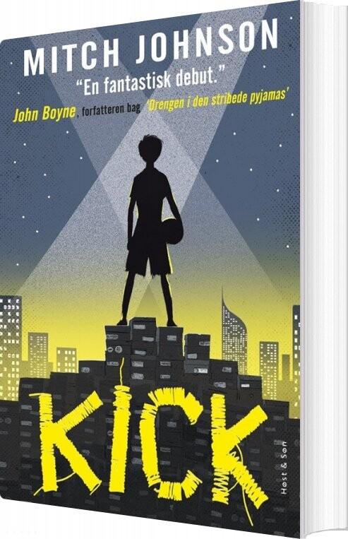Image of   Kick - Mitch Johnson - Bog
