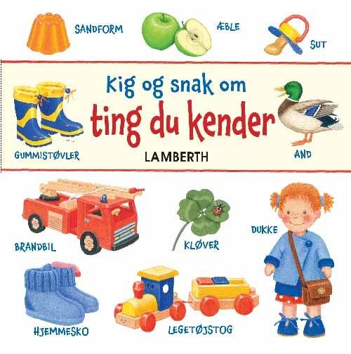 Kig Og Snak Om Ting Du Kender - Lena Lamberth - Bog