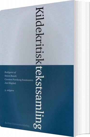 Image of   Kildekritisk Tekstsamling - Steen Busck - Bog