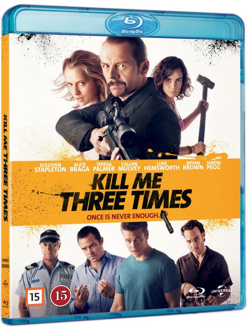 Image of   Kill Me Three Times - Blu-Ray