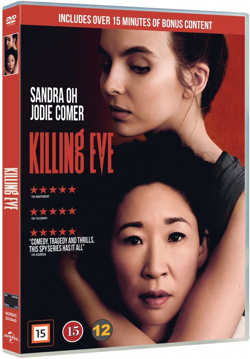 Image of   Killing Eve - Sæson 1 - DVD - Tv-serie