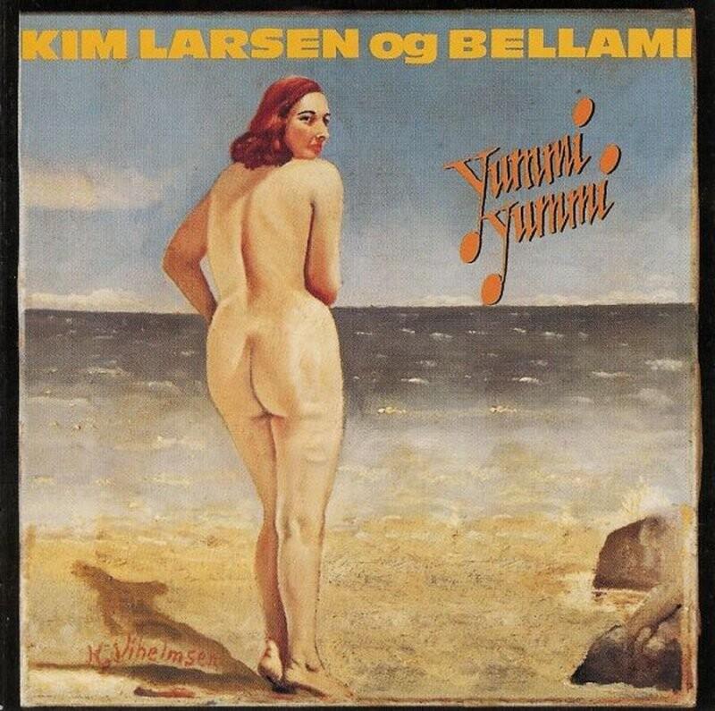Image of   Kim Larsen Og Bellami - Yummi Yummi - Vinyl / LP