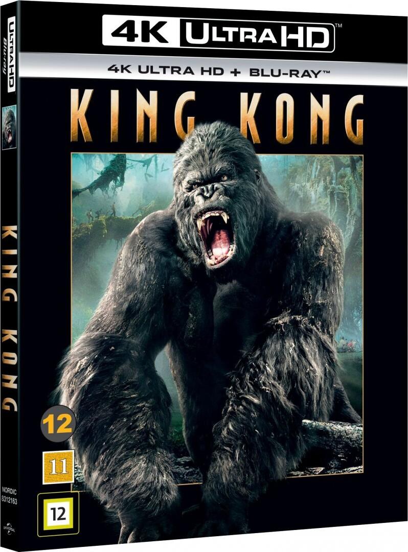 Image of   King Kong - 2005 - 4K Blu-Ray