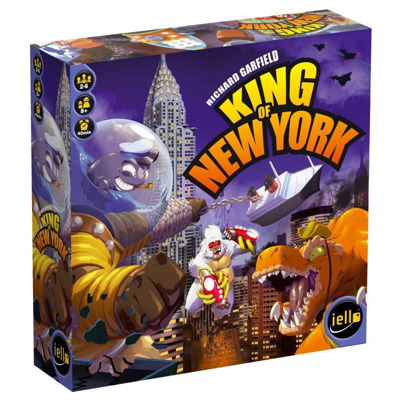 King Of New York Spil / Brætspil - Engelsk