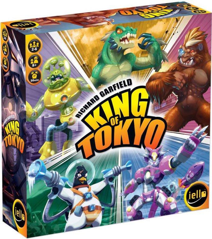 King Of Tokyo Brætspil - Dansk