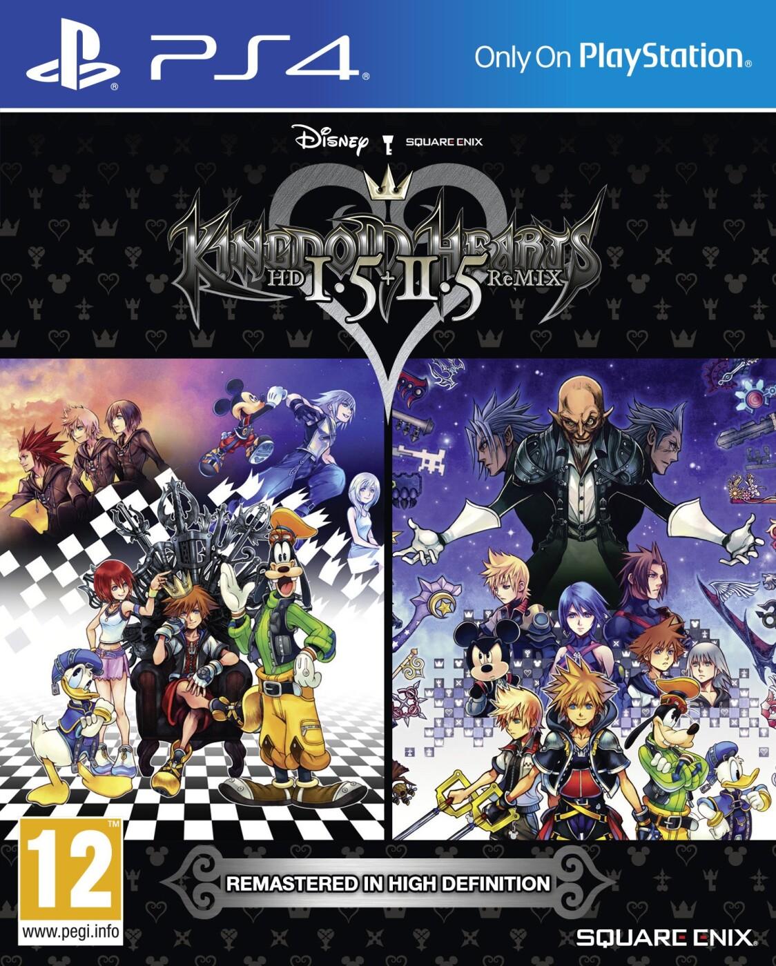 Image of   Kingdom Hearts Hd 1.5 + 2.5 Remix - PS4