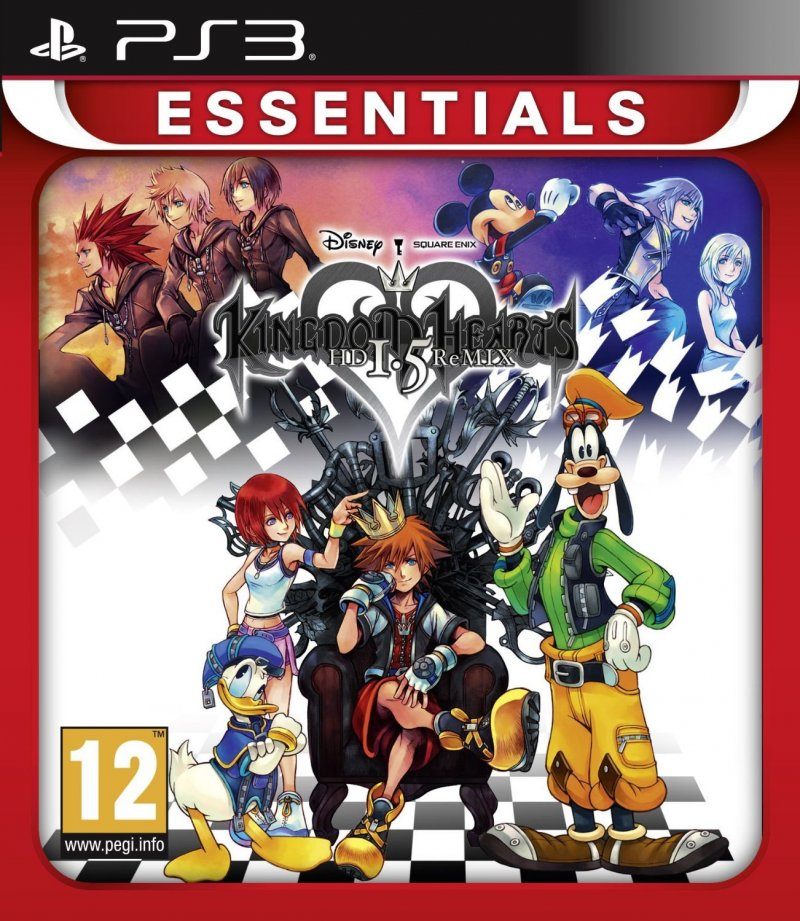 Image of   Kingdom Hearts Hd 1.5 Remix (essentials) - PS3