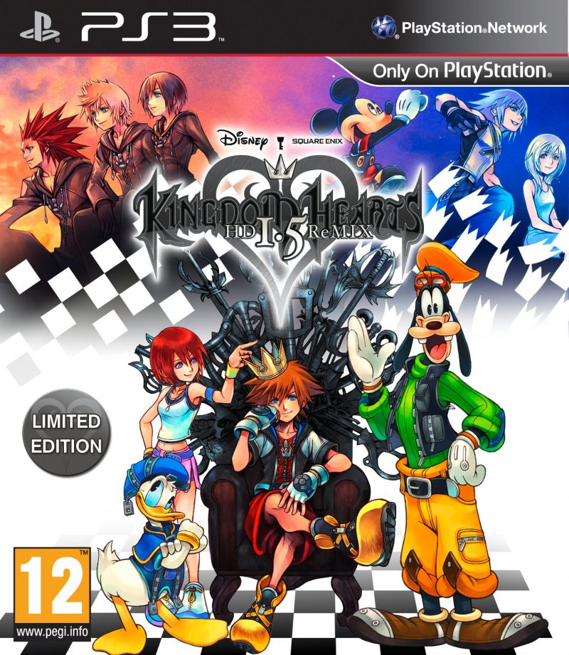 Image of   Kingdom Hearts Hd 1.5 Remix Limited Edition - PS3