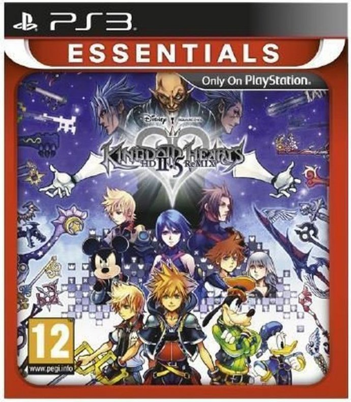 Image of   Kingdom Hearts Hd 2.5 Remix (essentials) - PS3