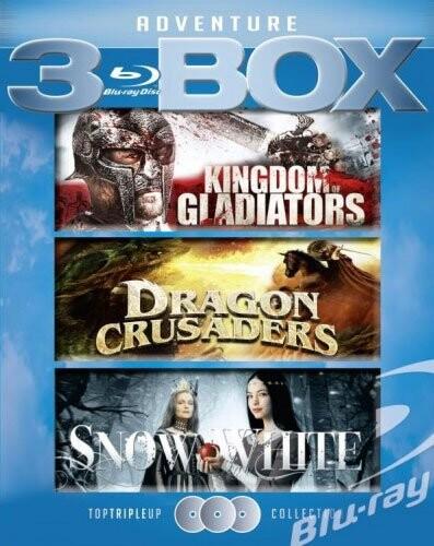 Image of   Kingdom Of Gladiators // Dragon Crusaders // Snow White - Blu-Ray