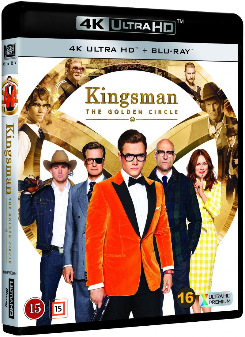Billede af Kingsman 2: The Golden Circle - 4K Blu-Ray