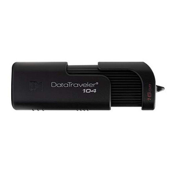 Image of   Kingston Datatraveler 104 - 32gb Usb 2.0 Stik - Dt104 - Sort