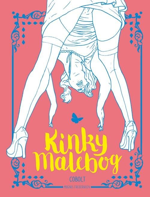 Kinky Malebog - Magnus Frederiksen - Bog
