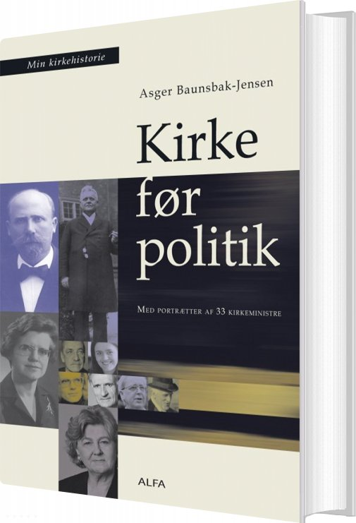 Image of   Kirke Før Politik - Asger Baunsbak-jensen - Bog