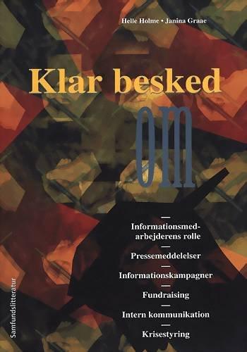 Image of   Klar Besked - Helle Holme - Bog