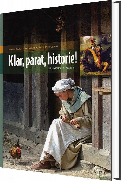 Klar, Parat, Historie! 5.kl. Grundbog - Hans Hostrup - Bog