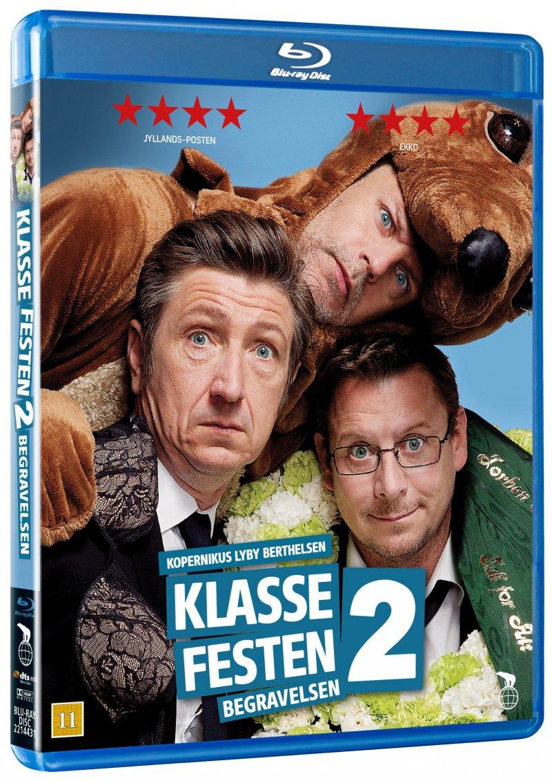 Klassefesten 2 - Begravelsen - Blu-Ray