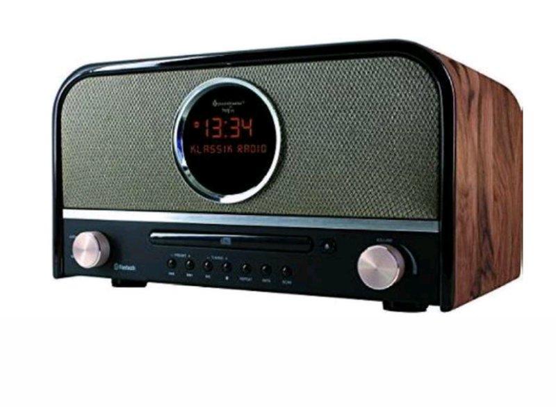 Kendte Klassisk Retro Dab+ /cd Radio Med Bluetooth Og Usb Indgang → Køb PJ-92