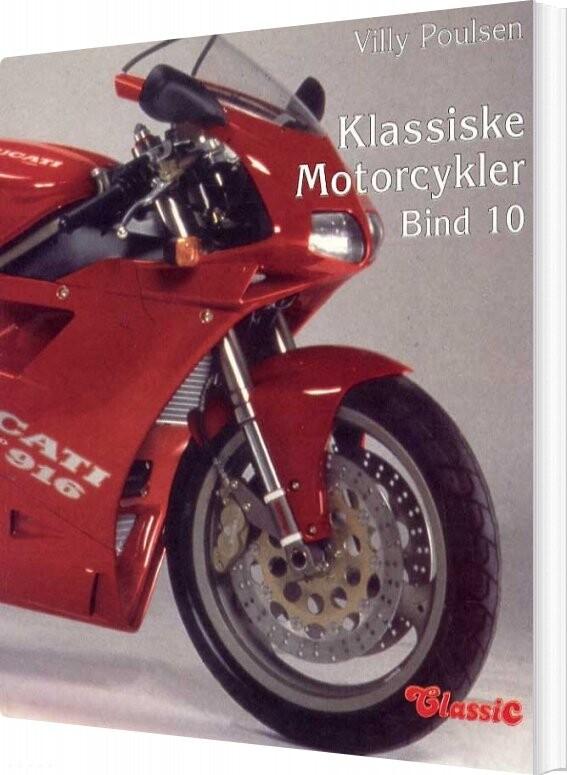 Image of   Klassiske Motorcykler - Bind 10 - Villy Poulsen - Bog