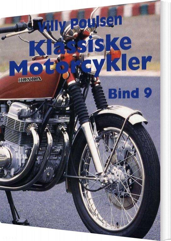 Image of   Klassiske Motorcykler - Bind 9 - Villy Poulsen - Bog