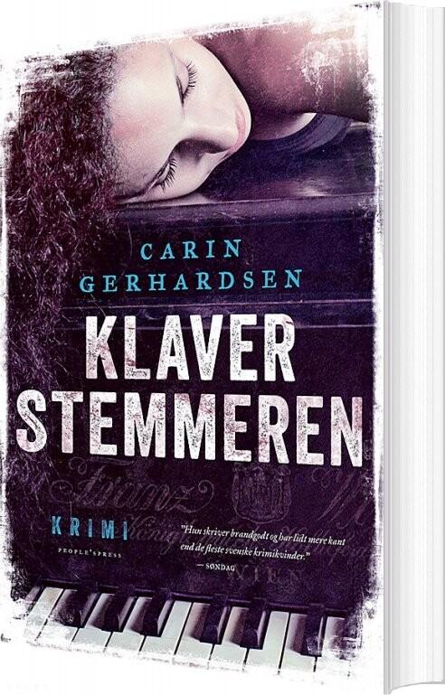 Klaverstemmeren - Carin Gerhardsen - Bog