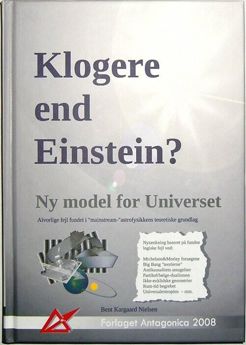 Image of   Klogere End Einstein? - Bent Kargaard Nielsen - Bog