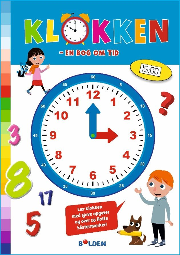 Klokken - En Bog Om Tid (nye Illustrationer) - Fanny Bruun - Bog