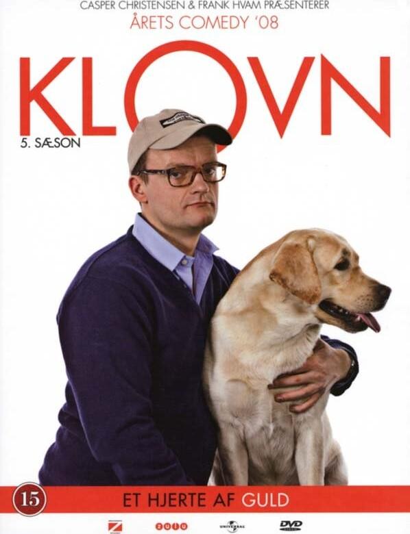 Image of   Klovn - Sæson 5 - Et Hjerte Af Guld - DVD - Tv-serie