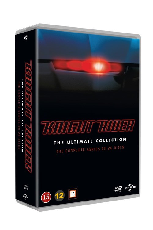 Image of   Knight Rider Box - Den Komplette Serie - DVD - Tv-serie