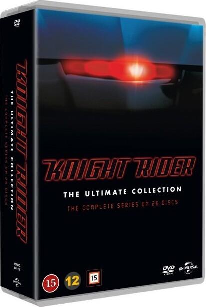 Image of   Knight Rider Box - Den Komplette Serie - DVD - Tv-serie