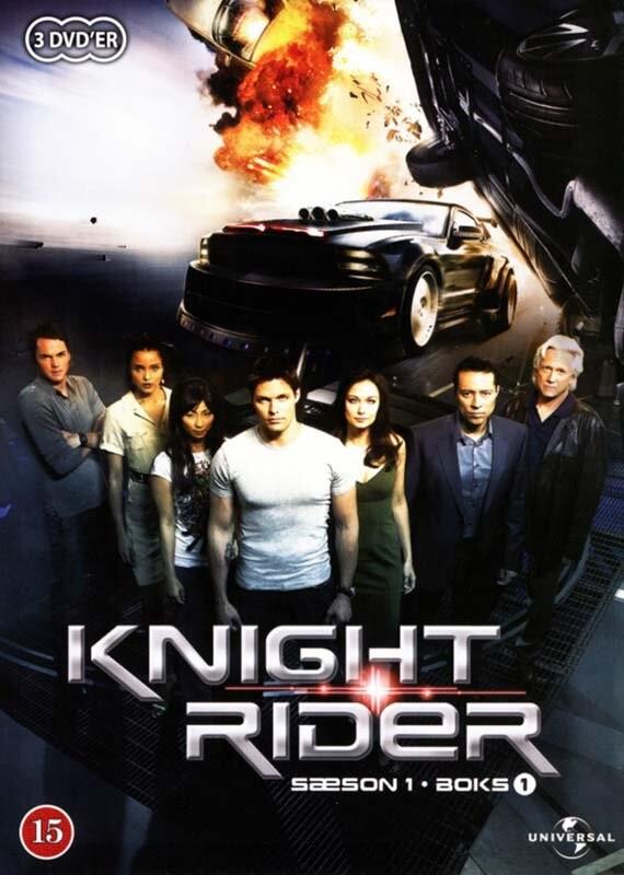 Image of   Knight Rider - Sæson 1 - Boks 1 - DVD - Tv-serie