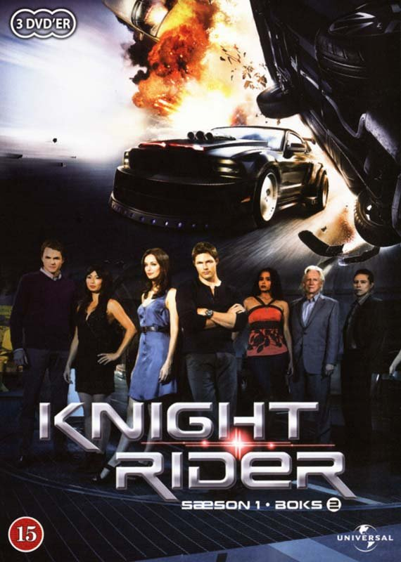 Image of   Knight Rider - Sæson 1 - Boks 2 - DVD - Tv-serie