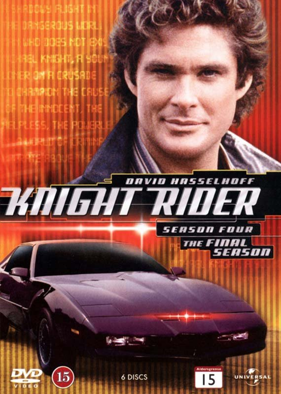 Image of   Knight Rider - Sæson 4 - DVD - Tv-serie