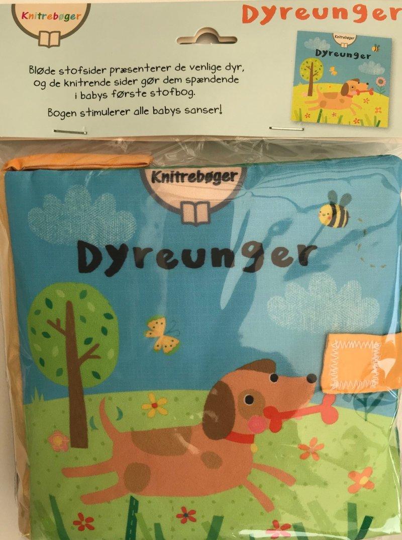 Image of   Knitre Stofbøger. Dyreunger - Bazar - Bog