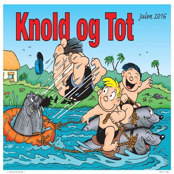 Knold Og Tot Julehæfte 2016 - Diverse - Tegneserie