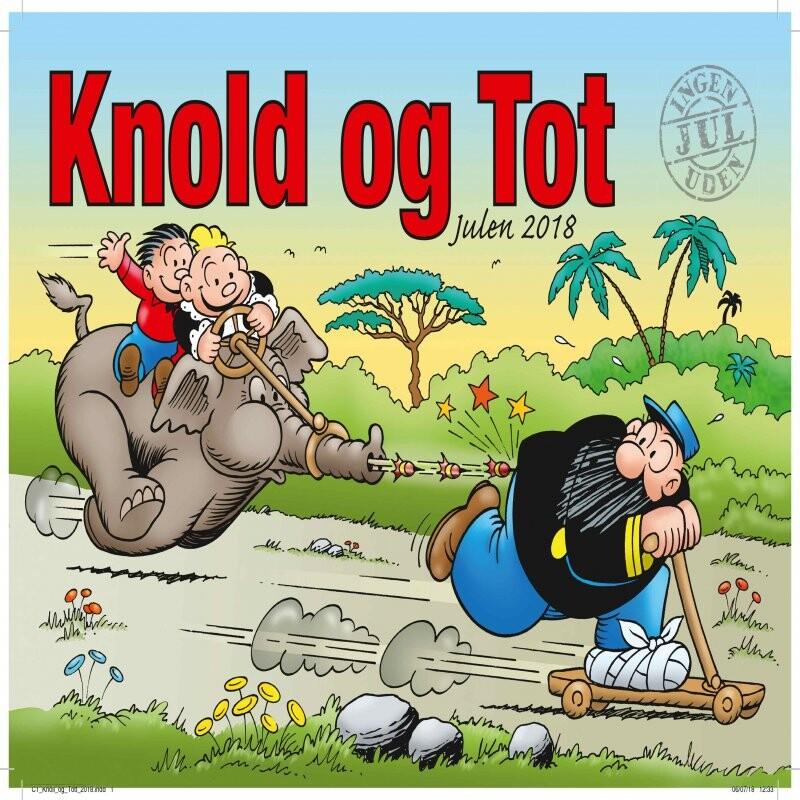 Billede af Knold & Tot Julen 2018 - Tegneserie