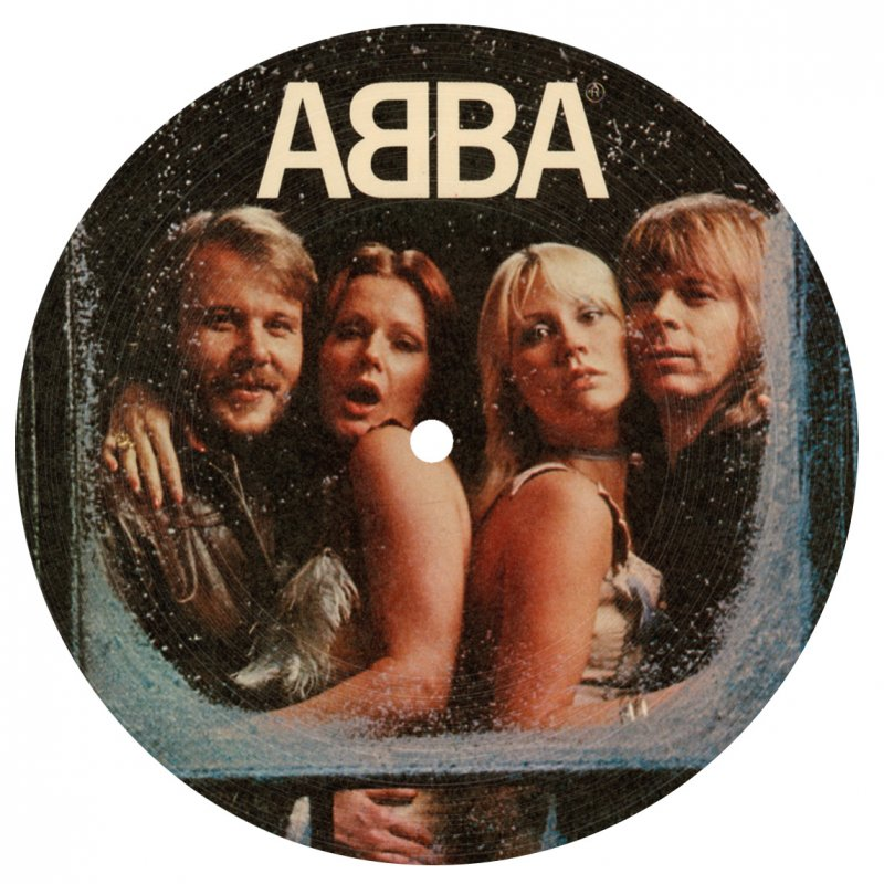 "Image of   Abba - Knowing Me Knowing You - 7"" Picture Disc - Vinyl / LP"