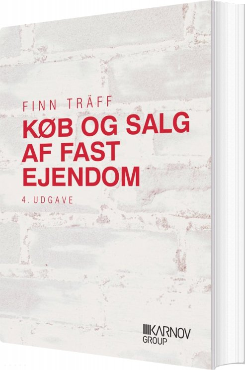 Image of   Køb Og Salg Af Fast Ejendom - Finn Träff - Bog