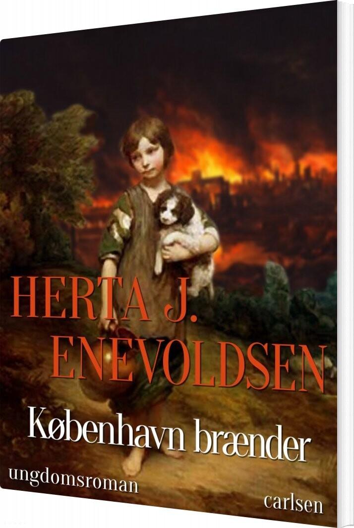 København Brænder - Herta J. Enevoldsen - Bog