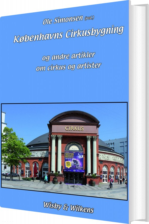 Københavns Cirkusbygning - Ole Simonsen - Bog