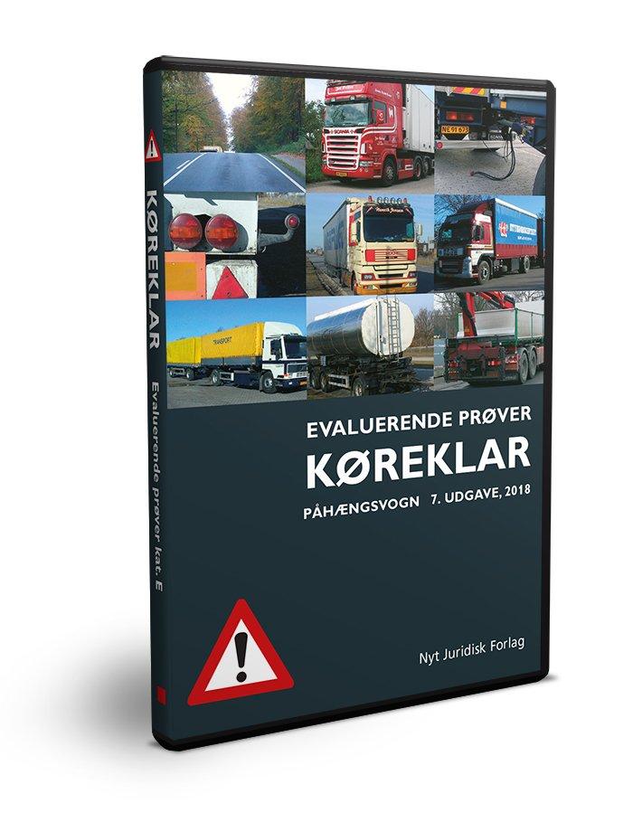 Image of   Køreklar - Evaluerende Prøver - Påhængsvogn - E - Svend Huvendick - Bog
