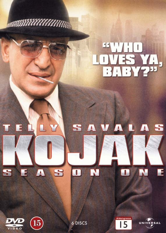 Image of   Kojak - Sæson 1 - DVD - Tv-serie