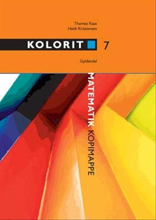 Image of   Kolorit 7. Klasse Kopimappe - Thomas Kaas - Bog
