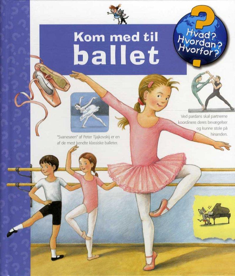 Image of   Kom Med Til Ballet - Doris Rübel - Bog