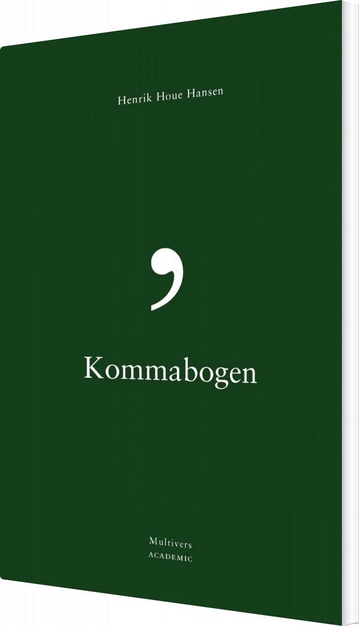 Kommabogen - Henrik Houe Hansen - Bog
