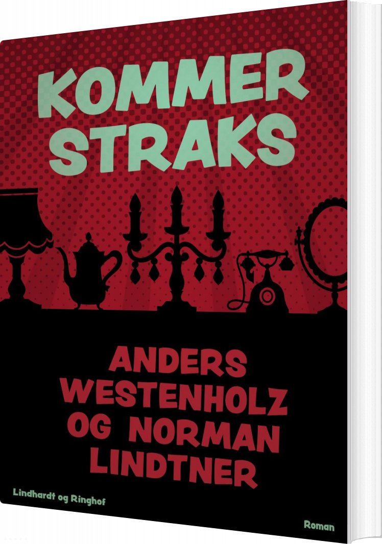 Kommer Straks - Anders Westenholz - Bog