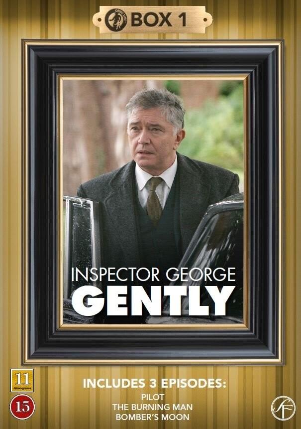 Image of   Kommissær George Gently - Box 1 - DVD - Tv-serie