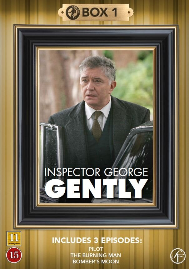 Image of   Kommissær George Gently - Box 1 - DVD - Tv-serie